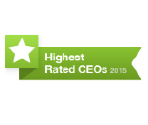 Award Highest Rated CEOs 2015